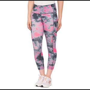 Vogo Tie-Dye Pocket Capri Tights Women's - XL